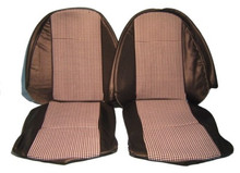 Seat Cover Kit Spit 73-80 Hounds Black,SC1517A