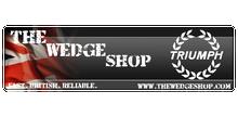 The Wedge Shop Sticker