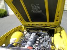 Triumph TR6 Bonnet Liner Heat Shield With or Without Wreath Emblem