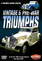 The Triumph Series - Vintage & Pre-War Triumphs - Front Cover