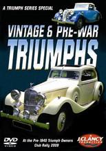 The Triumph Series - Vintage & Pre-War Triumphs - Front Cover