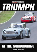 Triumph Competition & British GT's: Triumph at the Nurburgring - Front Cover