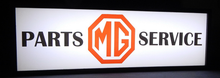 MG Service Lighted Sign