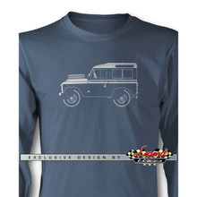 Land Rover 1948 Series I Long Sleeves T-Shirt