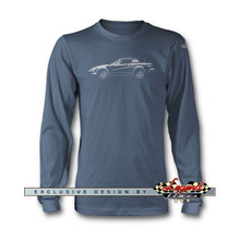 Triumph TR7 Coupe Long Sleeves T-Shirt