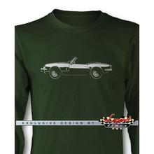 Triumph Spitfire Convertible Long Sleeves T-Shirt