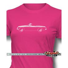 MG MGB Convertible Women T-Shirt