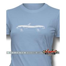 Triumph Spitfire Convertible Women T-Shirt