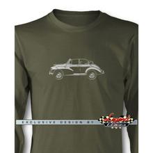 Morris Minor Tourer Convertible Long Sleeves T-Shirt