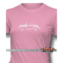 Morris Minor Tourer Convertible Women T-Shirt