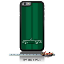Triumph TR6 Convertible Smartphone Case - Racing Stripes