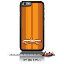 Triumph Spitfire Convertible Smartphone Case - Racing Stripes