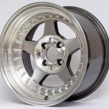 Aftermarket 5 Spoke style wheels 15x7 4x95.25