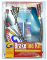 Brake Hose Set HD Spitfire 73 to 80,SSBHS7380
