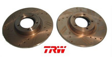 Brake Rotor Set Drilled&Slotted TR3B-TR6, DF7269S