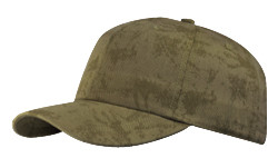 Olive Cotton Crackle Washed Cap