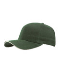 Forest/Stone Fine Brushed Cotton Cap