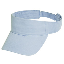 Black Organic Cotton Visor