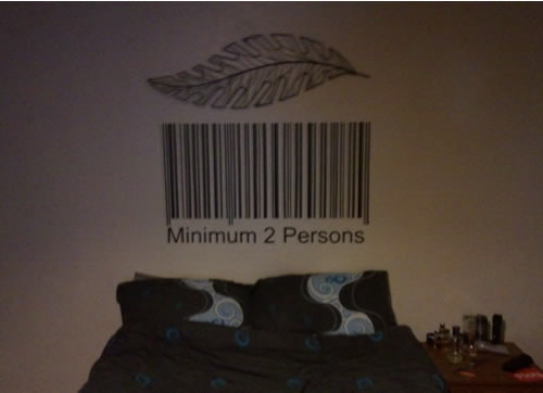 Barcode Wall Sticker