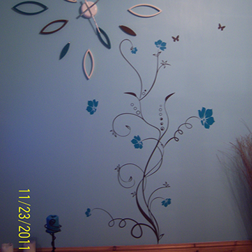 vineflower wall stickers