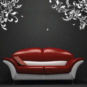 Dual Baroque Wall Sticker
