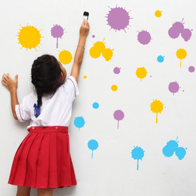 Splash Wall Stickers
