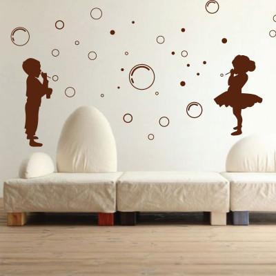 Kids & Bubbles Wall Sticker