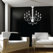 Chandelier Light Wall Sticker
