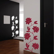 Chrysanthemum Butterfly Wall Sticker