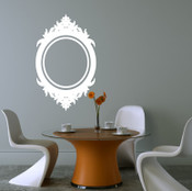 Mirror Frame Wall Sticker