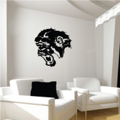 Angry Gorilla Wall Sticker