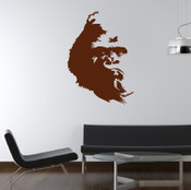 Gorilla Wall Sticker