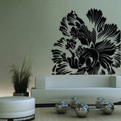 Large Luxury Flower Wall Sticker