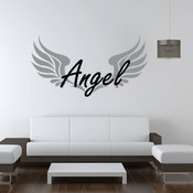 Angel wall sticker
