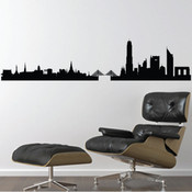 Bangkok Skyline Wall Sticker