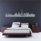 Paris Skyline Wall Sticker