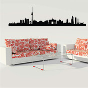 Berlin Skyline Wall Sticker
