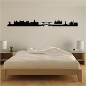 Amsterdam Skyline Wall Sticker