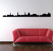 Copenhagen Skyline Wall Sticker