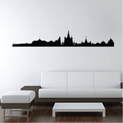 Moscow Skyline Wall Sticker