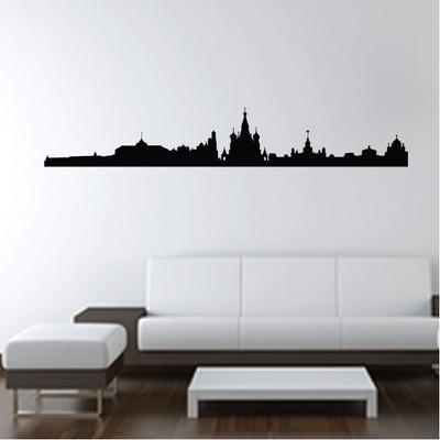 Moscow Skyline Wall Sticker