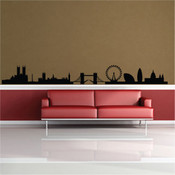London skyline wall sticker