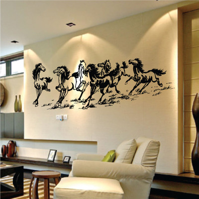 Eight Horses Wall Sticker