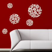 Oriental Clouds Wall Stickers