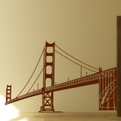 Steel Bridge Wall Sticker