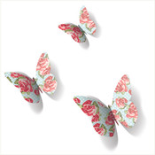 3d vintage butterfly wall decors