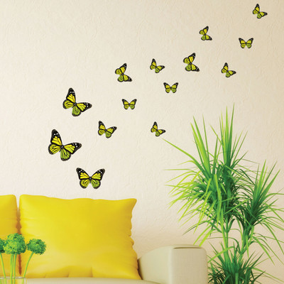 monarch butterfly wall stickers