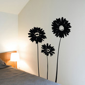 gerbera wall sticker