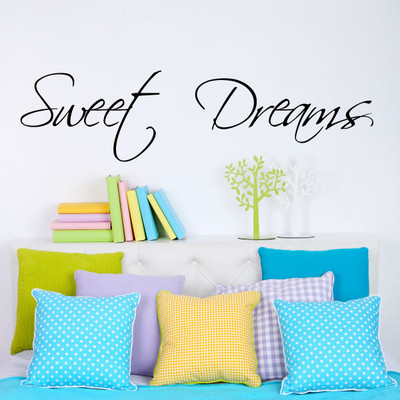 sweet dreams wall quotes stickers