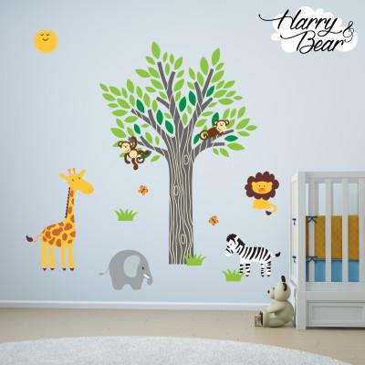harry & bear wall stickers